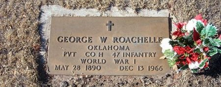 ROACHELLE (VETERAN WWI), GEORGE WILSON - Baca County, Colorado | GEORGE WILSON ROACHELLE (VETERAN WWI) - Colorado Gravestone Photos