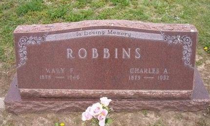 ROBBINS, MARY F - Baca County, Colorado | MARY F ROBBINS - Colorado Gravestone Photos