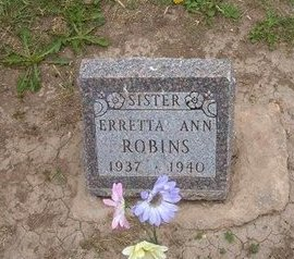 ROBINS, ERRETTA ANN - Baca County, Colorado | ERRETTA ANN ROBINS - Colorado Gravestone Photos