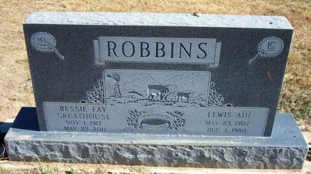 GREATHOUSE ROBBINS, BESSIE FAY - Baca County, Colorado | BESSIE FAY GREATHOUSE ROBBINS - Colorado Gravestone Photos