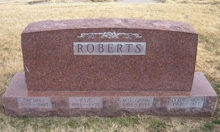ROBERTS, GOLDIE MEAD - Baca County, Colorado | GOLDIE MEAD ROBERTS - Colorado Gravestone Photos