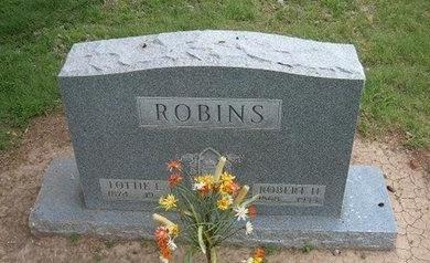 ROBINS, ROBERT H - Baca County, Colorado | ROBERT H ROBINS - Colorado Gravestone Photos