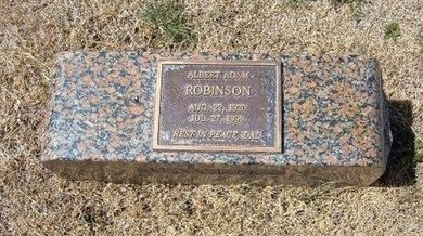 ROBINSON, ALBERT ADAM - Baca County, Colorado | ALBERT ADAM ROBINSON - Colorado Gravestone Photos