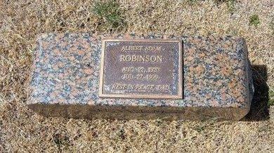 ROBINSON, ALBERT ADAM - Baca County, Colorado | ALBERT ADAM ROBINSON - Colorado Gravestone Photos