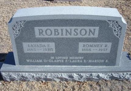 ROBINSON, ROMNEY RUTHERFORD - Baca County, Colorado | ROMNEY RUTHERFORD ROBINSON - Colorado Gravestone Photos