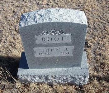 ROOT, JOHN J - Baca County, Colorado   JOHN J ROOT - Colorado Gravestone Photos