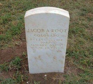 ROOT (VETERAN WWI), JACOB A - Baca County, Colorado | JACOB A ROOT (VETERAN WWI) - Colorado Gravestone Photos