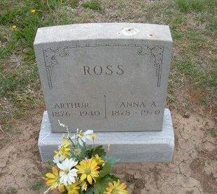 ROSS, ARTHUR ERIN - Baca County, Colorado | ARTHUR ERIN ROSS - Colorado Gravestone Photos