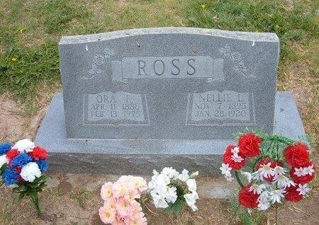 ROSS, NELLIE LEE - Baca County, Colorado | NELLIE LEE ROSS - Colorado Gravestone Photos