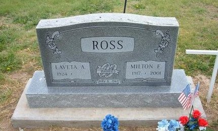 ROSS (VETERAN WWII), MILTON F - Baca County, Colorado | MILTON F ROSS (VETERAN WWII) - Colorado Gravestone Photos