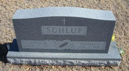 SCHLUP, HELEN M - Baca County, Colorado | HELEN M SCHLUP - Colorado Gravestone Photos