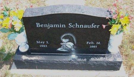 SCHNAUFER, BENJAMIN - Baca County, Colorado | BENJAMIN SCHNAUFER - Colorado Gravestone Photos