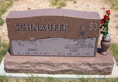 SCHNAUFER, EARL HUGH - Baca County, Colorado | EARL HUGH SCHNAUFER - Colorado Gravestone Photos
