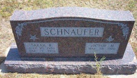 SCHNAUFER, SARAH R - Baca County, Colorado | SARAH R SCHNAUFER - Colorado Gravestone Photos