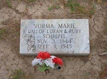 SCHREPEL, NORMA MARIE - Baca County, Colorado | NORMA MARIE SCHREPEL - Colorado Gravestone Photos