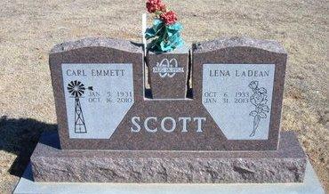 POYNER SCOTT, LENA LADEAN - Baca County, Colorado   LENA LADEAN POYNER SCOTT - Colorado Gravestone Photos