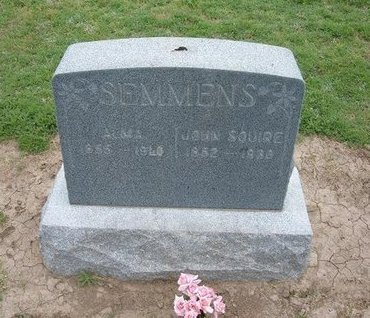 SEMMENS, ALMA - Baca County, Colorado   ALMA SEMMENS - Colorado Gravestone Photos