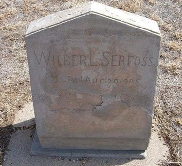 SERFOSS, WILBER L - Baca County, Colorado   WILBER L SERFOSS - Colorado Gravestone Photos
