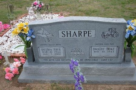 SHARPE, DELMA FAYE - Baca County, Colorado | DELMA FAYE SHARPE - Colorado Gravestone Photos
