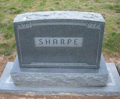 SHARPE FAMILY GRAVESTONE,  - Baca County, Colorado |  SHARPE FAMILY GRAVESTONE - Colorado Gravestone Photos