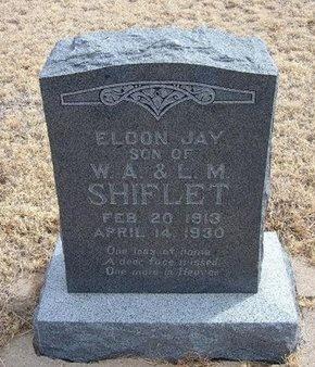 SHIFLET, ELDON JAY - Baca County, Colorado | ELDON JAY SHIFLET - Colorado Gravestone Photos