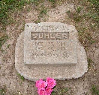 SHULER, WALTER W - Baca County, Colorado | WALTER W SHULER - Colorado Gravestone Photos