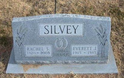 SILVEY, EVERETT J - Baca County, Colorado | EVERETT J SILVEY - Colorado Gravestone Photos