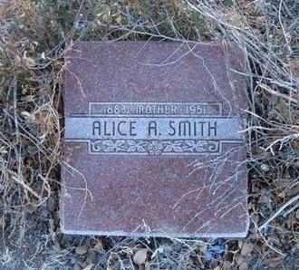 SMITH, ALICE A - Baca County, Colorado | ALICE A SMITH - Colorado Gravestone Photos