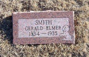 SMITH, GERALD ELMER - Baca County, Colorado | GERALD ELMER SMITH - Colorado Gravestone Photos