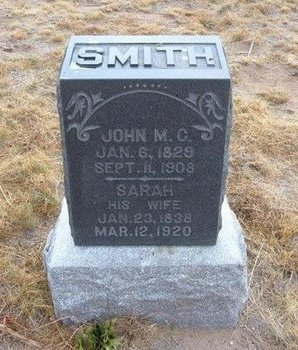 SMITH, JOHN M C - Baca County, Colorado | JOHN M C SMITH - Colorado Gravestone Photos