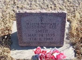 SMITH, JOSEPHINE LEE - Baca County, Colorado | JOSEPHINE LEE SMITH - Colorado Gravestone Photos