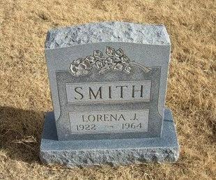 SMITH, LORENA J - Baca County, Colorado | LORENA J SMITH - Colorado Gravestone Photos