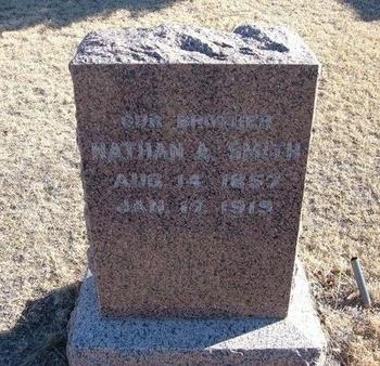 SMITH, NATHAN A - Baca County, Colorado | NATHAN A SMITH - Colorado Gravestone Photos