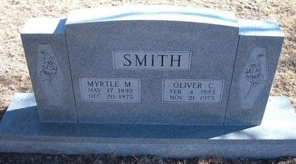 SMITH, MYRTLE M - Baca County, Colorado | MYRTLE M SMITH - Colorado Gravestone Photos