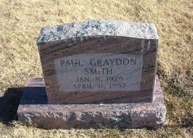 SMITH, PAUL GRAYDON - Baca County, Colorado | PAUL GRAYDON SMITH - Colorado Gravestone Photos