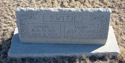 SMITH, FLORA - Baca County, Colorado | FLORA SMITH - Colorado Gravestone Photos