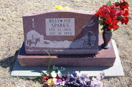 SPARKS, BILLY JOE - Baca County, Colorado   BILLY JOE SPARKS - Colorado Gravestone Photos