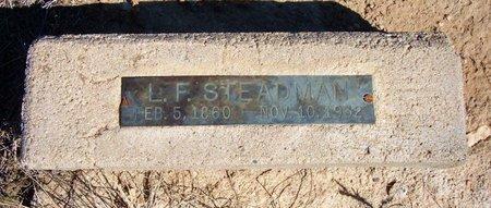 STEADMAN, L FRANK - Baca County, Colorado | L FRANK STEADMAN - Colorado Gravestone Photos