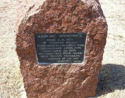 STENHURA, ADOLPH - Baca County, Colorado | ADOLPH STENHURA - Colorado Gravestone Photos