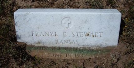 STEWART (VETERAN WWI), FRANZE ESPAR - Baca County, Colorado | FRANZE ESPAR STEWART (VETERAN WWI) - Colorado Gravestone Photos