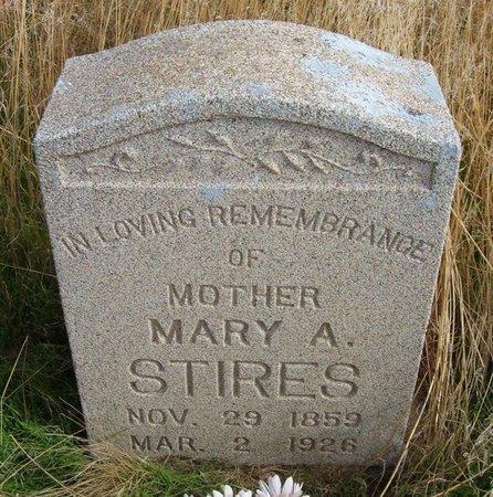 STIRES, MARY ALICE - Baca County, Colorado   MARY ALICE STIRES - Colorado Gravestone Photos