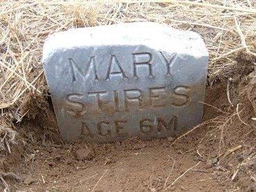 STIRES, MARY - Baca County, Colorado | MARY STIRES - Colorado Gravestone Photos