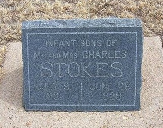 STOKES, INFANT SON - Baca County, Colorado | INFANT SON STOKES - Colorado Gravestone Photos