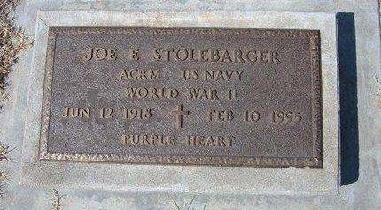 STOLEBARGER (VETERAN WWII), JOE E - Baca County, Colorado | JOE E STOLEBARGER (VETERAN WWII) - Colorado Gravestone Photos