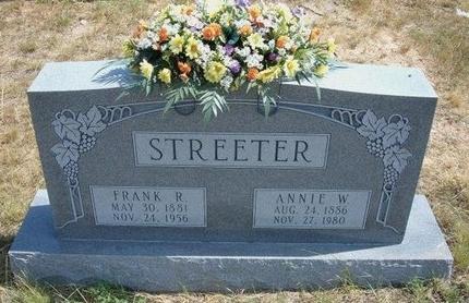 STREETER, ANNIE WALTON - Baca County, Colorado | ANNIE WALTON STREETER - Colorado Gravestone Photos