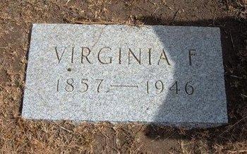 STREETER, VIRGINIA F - Baca County, Colorado | VIRGINIA F STREETER - Colorado Gravestone Photos