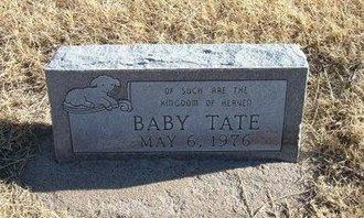 TATE, BABY - Baca County, Colorado   BABY TATE - Colorado Gravestone Photos