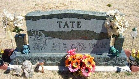 TATE, JANET JO - Baca County, Colorado | JANET JO TATE - Colorado Gravestone Photos