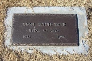 TATE (VETERAN), KENT LEIGH - Baca County, Colorado | KENT LEIGH TATE (VETERAN) - Colorado Gravestone Photos