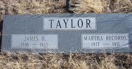 TAYLOR, MARTHA - Baca County, Colorado | MARTHA TAYLOR - Colorado Gravestone Photos